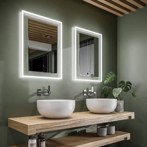 bathroom mirror light