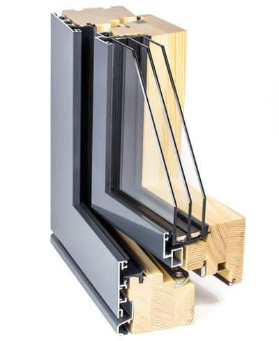 Composite window frames