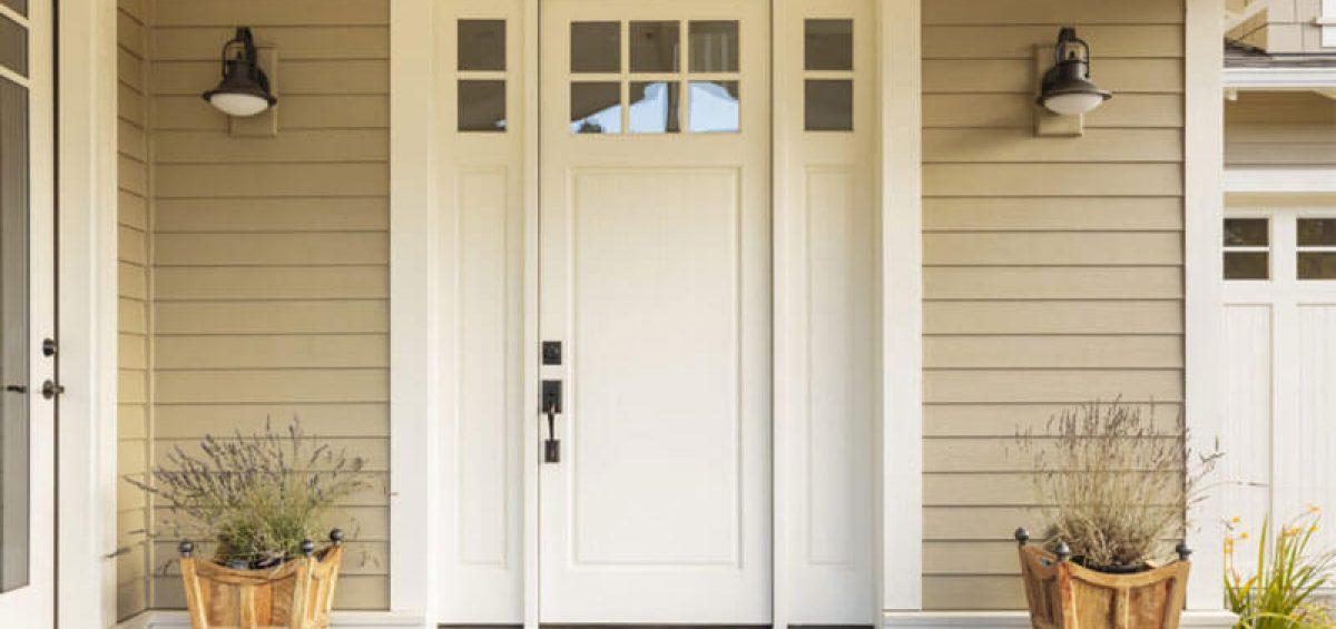 material for exterior door