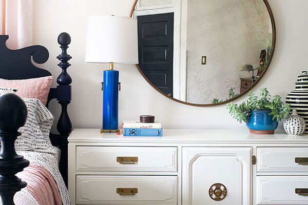 How To Pick The Right Size Mirror, How High To Hang Mirror Above Entry Table