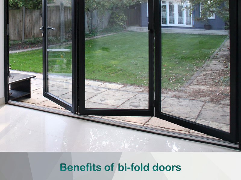 benefits of bi-fold doors