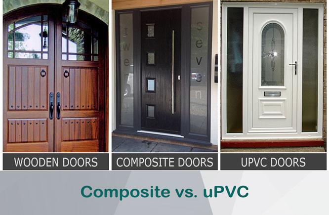 comparison between upvc doors and composite doors
