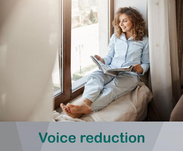Best windows to voice reduction