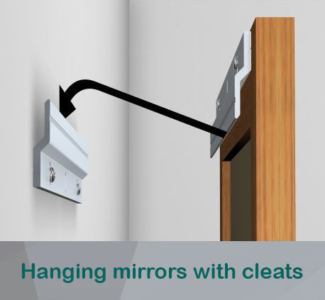 hanging_mirrors_with_cleats