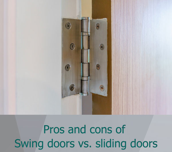 swing doors vs sliding doors