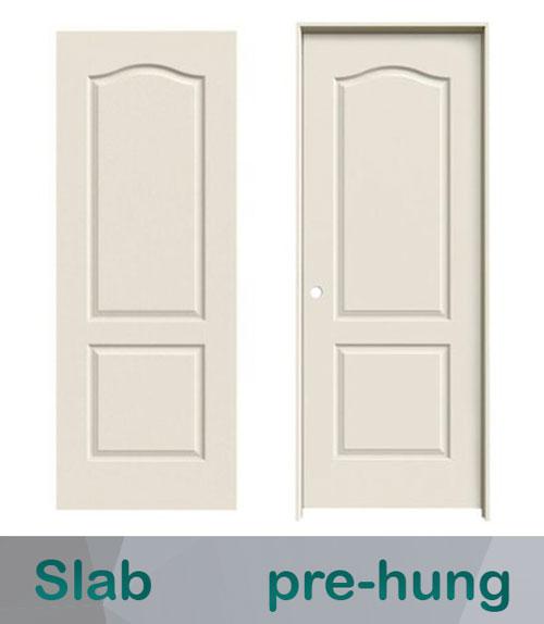 slab vs. pre-hung doors