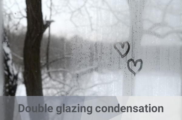 preventing double glazing from condensation
